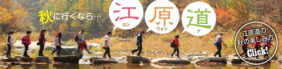 秋に行くなら…江原道
