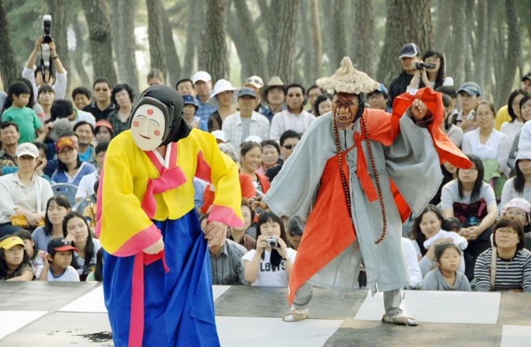 安東タルチュム祭