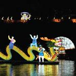 晋州晋州南江流燈祭り