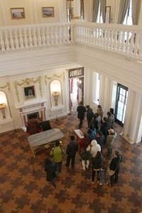 大韓帝国歴史館として公開された「石造殿」の内部
