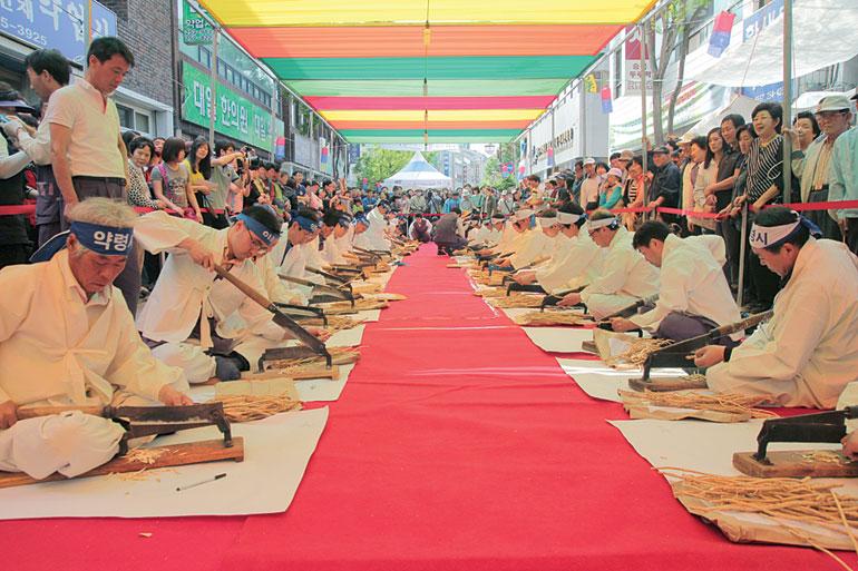 薬令市韓方文化祭り