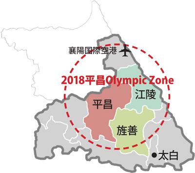 2018平昌オリンピックロード