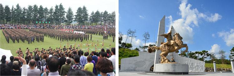 陸軍訓練所と百済軍事博物館