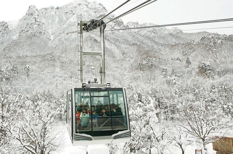 雪岳ケーブルカー
