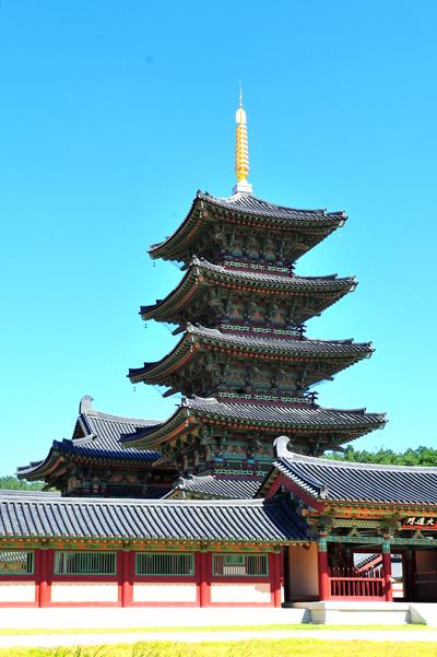 능사5층목탑